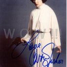 Gorgeous CARRIE FISHER Signed Autograph 8x10 inch. Picture Photo REPRINT