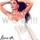 Gorgeous ELECTRA Signed Autograph 8x10 inch. Picture Photo REPRINT