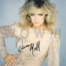 Gorgeous DONNA MILLS Signed Autograph 8x10 inch. Picture Photo REPRINT