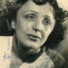 Gorgeous EDITH PIAF Signed Autograph 5x7 inch. Picture Photo REPRINT