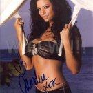 Gorgeous CANDICE MICHELLE Signed Autograph 8x10 inch. Picture Photo REPRINT