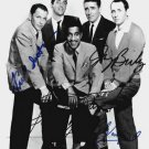 FRANK SINATRA  DEAN MARTIN RAT PACK Signed by 5 Autograph 8x10  Photo REPRINT