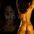 Bodybuilder AVA COWAN High Definition 13x19 inch Photo Picture Print