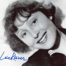 Gorgeous LUISE RAINER Signed Autograph 8x10 Picture Photo REPRINT