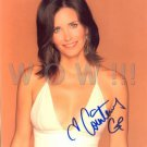 Gorgeous COURTNEY COX Signed Autograph 8x10 inch. Picture Photo REPRINT