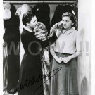 Gorgeous JUDITH ANDERSON/JOAN FONTAINE Signed Autograph 8x10  Pic Photo REPRINT