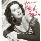 Gorgeous HEDY LAMARR Signed  Autograph 8x10 in. Picture Photo REPRINT