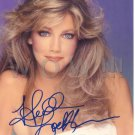 Gorgeous HEATHER LOCKLEAR Signed  Autograph 8x10 in. Picture Photo REPRINT