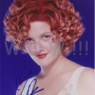 Original  DREW BARRYMORE 8x10 Signed  Autographed  Photo Picture