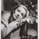 Original MARLENE DIETRICH 8x10 Signed  Autographed  Photo Picture