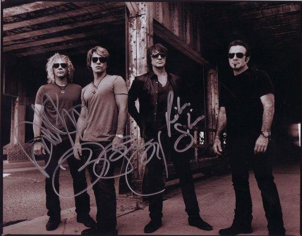 BON JOVI  Signed Autograph 8x10  Picture Photo REPRINT