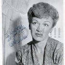 Gorgeous EVE ARDEN Signed Autograph 8x10 inch. Picture Photo REPRINT