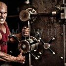 Bodybuilder BEN PAKULSKI High Definition 13x19 inch  Photo Picture Print