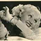 Gorgeous BETTY GRABLE Signed Autograph 8x10 inch. Picture Photo REPRINT