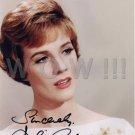Gorgeous JULIE ANDREWS Signed Autograph 8x10  Picture Photo REPRINT