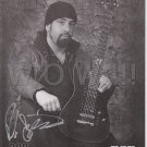 Original ROB CAGGIANO of ANTHRAX  8x10  Autograph Photo Picture