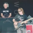 ORIGINAL PHIL LANZON/TREVOR BOLDER of URIAH HEEP  8x10 Signed  Autograph Photo