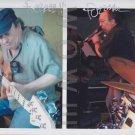 ORIGINAL FUZZBEE MORSE of ex-PETER GABRIEL Band 8x10 Signed  Autograph Photo
