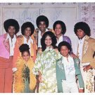 JACKSONS  Signed Autograph 8x10 inch. Picture Photo REPRINT