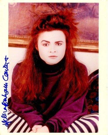 HELENA BONHAM  Signed Autograph 8x10  Picture Photo REPRINT