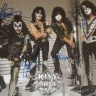 KISS Autographed signed by ALL 4  8x10 Photo Picture REPRINT