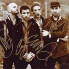 COLDPLAY Autographed signed 8x10 Photo Picture REPRINT