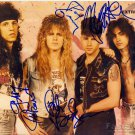 EXTREME Autographed signed 8x10 Photo Picture REPRINT
