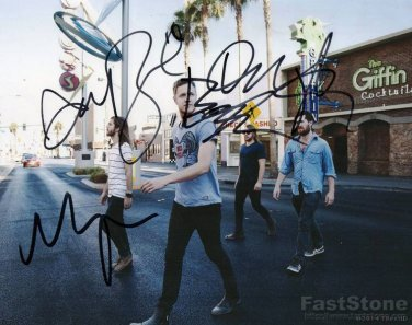 IMAGINE DRAGONS Autographed signed 8x10 Photo Picture REPRINT
