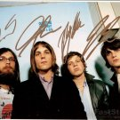 Kings of Leon Autographed signed 8x10 Photo Picture REPRINT