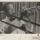 LOUIS ARMSTRONG  Autographed signed 8x10 Photo Picture REPRINT