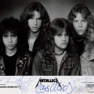 METALLICA  Autographed signed 8x10 Photo Picture REPRINT