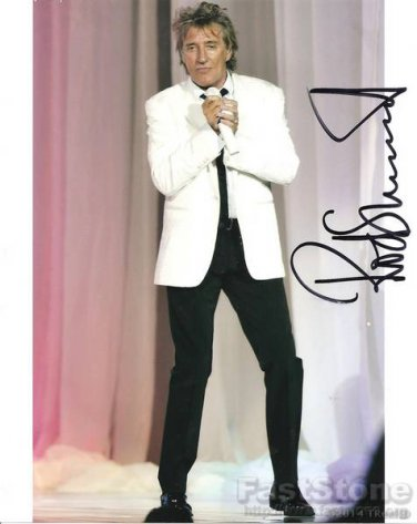 ROD STEWART  Autographed signed 8x10 Photo Picture REPRINT