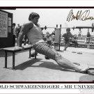 ARNOLD SCHWARZENEGGER  Autographed Signed 8x10 Photo Picture REPRINT