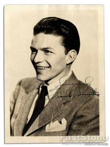 FRANK SINATRA  Autographed Signed 8x10 Photo Picture REPRINT