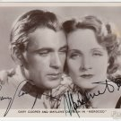 Gary Cooper  Autographed Signed 8x10 Photo Picture REPRINT