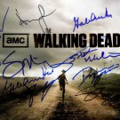 Walking Dead  Autographed Signed 8x10Photo Picture REPRINT