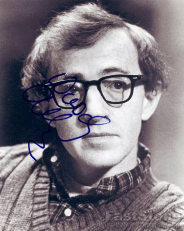 WOODY ALLEN  Autographed Signed 8x10Photo Picture REPRINT