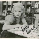 BETTE DAVIS Autographed Signed 8x10 Photo Picture REPRINT