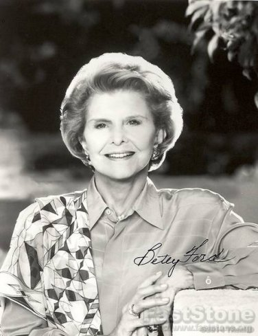 BETTY FORD Autographed Signed 8x10 Photo Picture REPRINT
