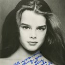 BROOKE SHIELDS  Autographed Signed 8x10 Photo Picture REPRINT