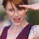 BRYCE DALLAS   Autographed Signed 8x10 Photo Picture REPRINT