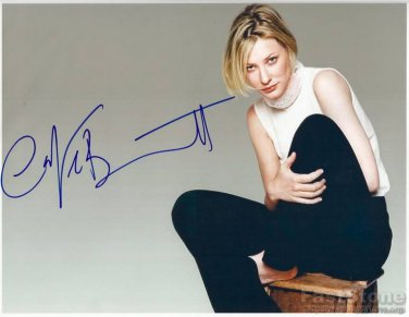CATE BLANCHETT Autographed Signed 8x10 Photo Picture REPRINT