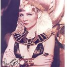 CLAUDETTE COLBERT  Autographed Signed 8x10 Photo Picture REPRINT