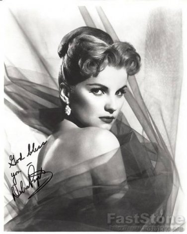 DEBRA PAGET  Autographed Signed 8x10 Photo Picture REPRINT