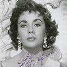 ELIZABETH TAYLOR  Autographed Signed 8x10 Photo Picture REPRINT