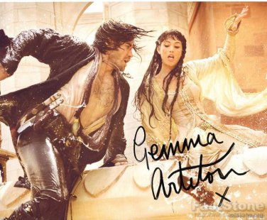 GEMMA ARTERTON  Autographed Signed 8x10 Photo Picture REPRINT
