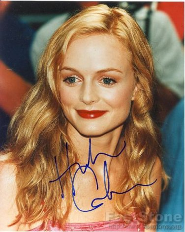 HEATHER GRAHAM Autographed Signed 8x10 Photo Picture REPRINT