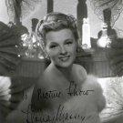 ILONA MASSEY  Autographed Signed 8x10 Photo Picture REPRINT