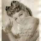 JANE FRAZEE  Autographed Signed 8x10 Photo Picture REPRINT