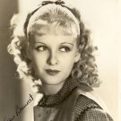 JOAN BENNETT  Autographed Signed 8x10 Photo Picture REPRINT